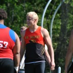 Abe Myers wins District Meet in Discus