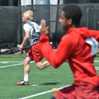 Abe Myers '18 ILB at OSU Football Camp 2017 – 5